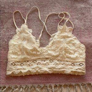 White lace bralette - medium